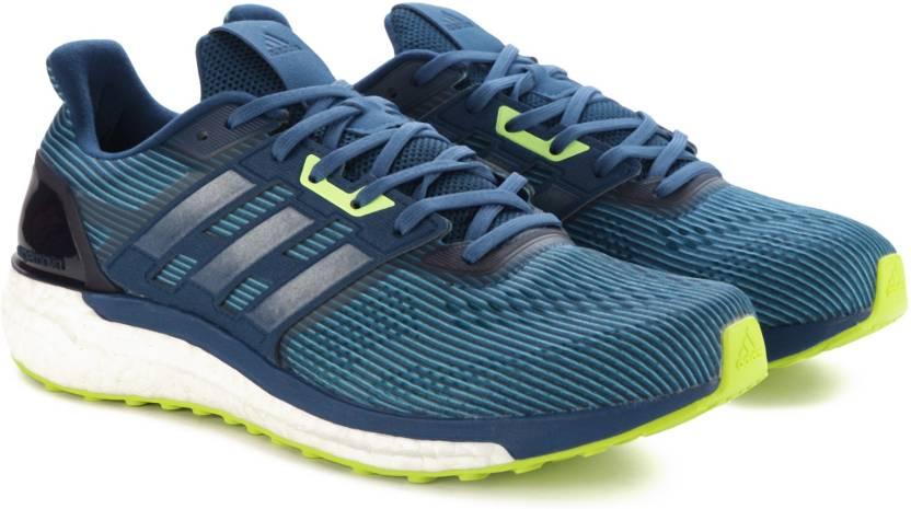 Adidas supernova m per gli uomini comprano scarpe da corsa vapblu / blunit / corblu
