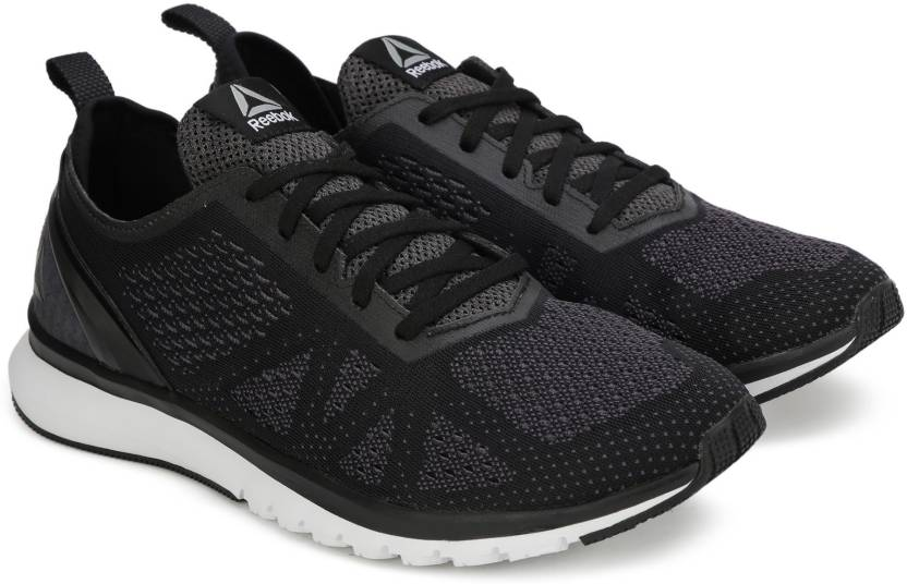 6560a4696b8218 REEBOK PRINT SMOOTH CLIP ULTK Running Shoes For Men - Buy BLK GRY ...
