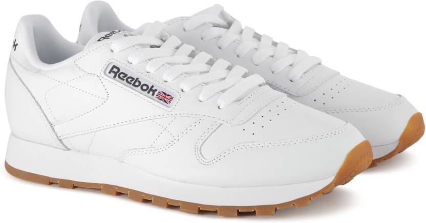 1c9b7d02edb835 REEBOK CL LTHR Sneakers For Men - Buy WHITE GUM Color REEBOK CL LTHR ...