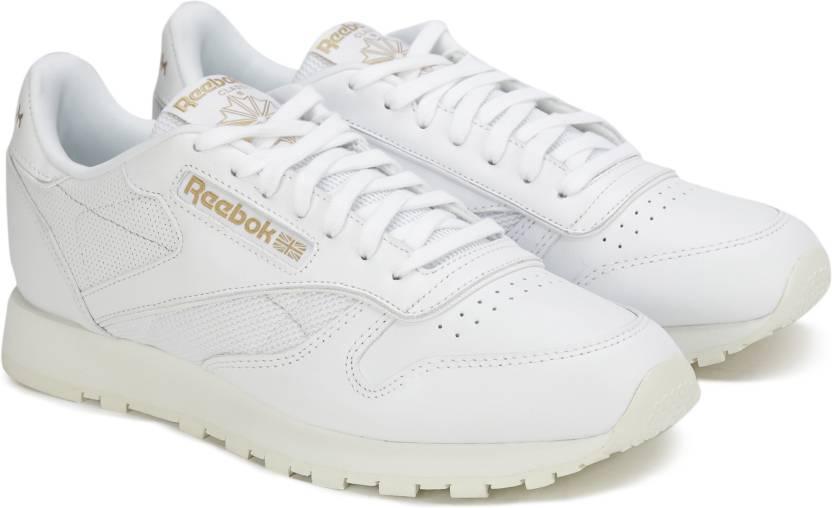 REEBOK CL LEATHER ALR Sneakers For Men - Buy WHITE CHALK SNOWY GREY ... 94ac74625