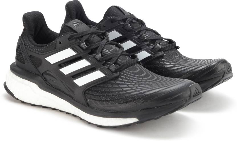 hot sales 4279c fbfc3 ADIDAS ENERGY BOOST M Running Shoes For Men (Black)