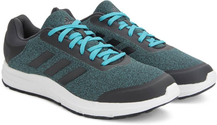 adidas stardrift m per gli uomini comprano scarpe da corsa dkgrey / eneblu colore