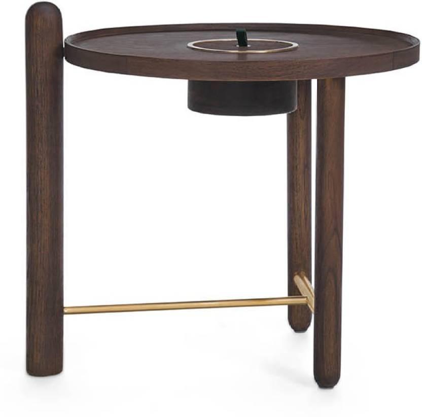 Urban Ladder Mej Side Table Finish Teak Solid Wood Side