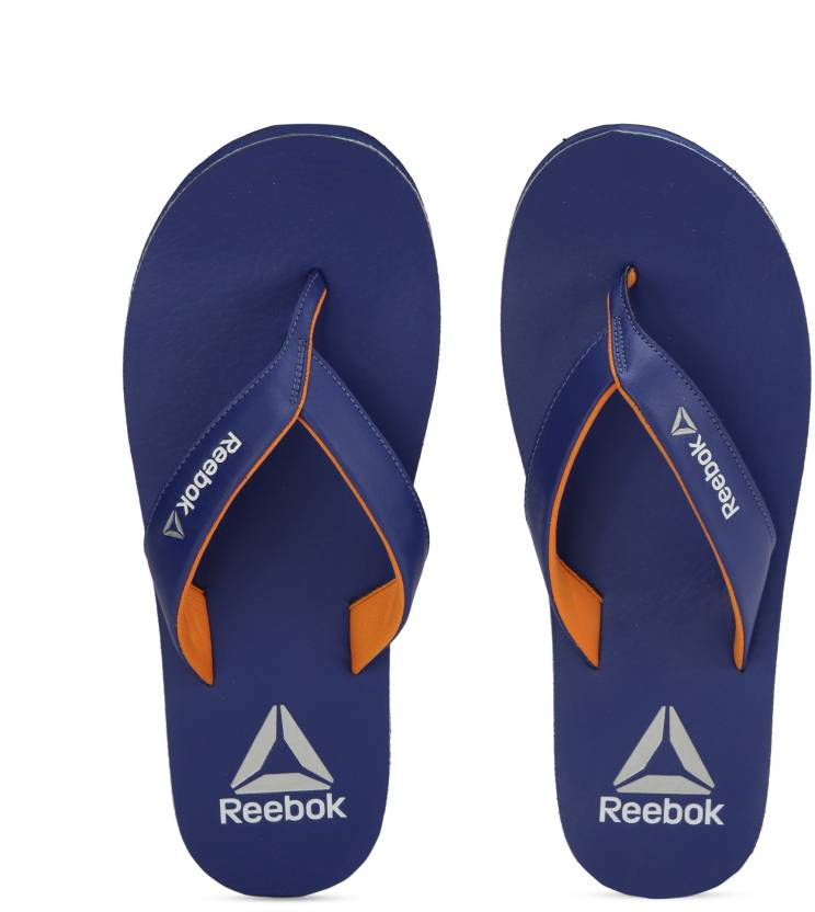 9b33a79460f REEBOK ADVENT Slippers - Buy COBALT NACHO METSIL WHT Color REEBOK ADVENT  Slippers Online at Best Price - Shop Online for Footwears in India