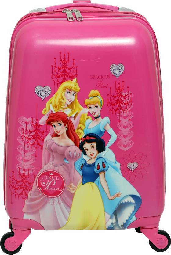 717509d77f HSR Kids Pink Polycarbonate 4 Wheel Children s Trolley Bag Small Travel Bag  (Pink)