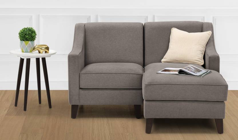 Furnspace Hayden L Shape, Single Seat, Chaise, Right-aligned Sofa ...