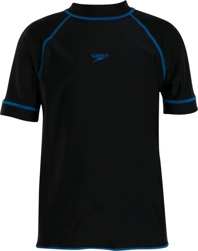 87337dbdec01 Speedo Boys Swimwear Short Sleeve Suntop Price in India - Buy Speedo ...