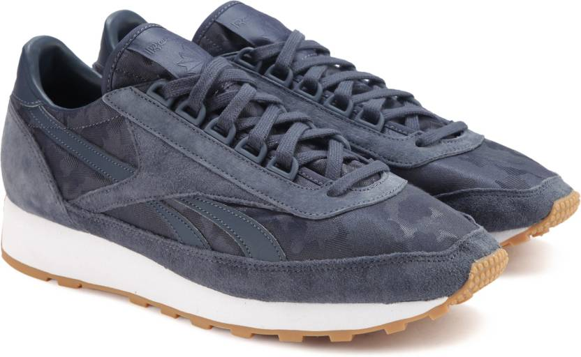 REEBOK AZTEC T Sneakers For Men - Buy SMOKY INDIGO WHITE-GUM Color ... 4a1cbd515