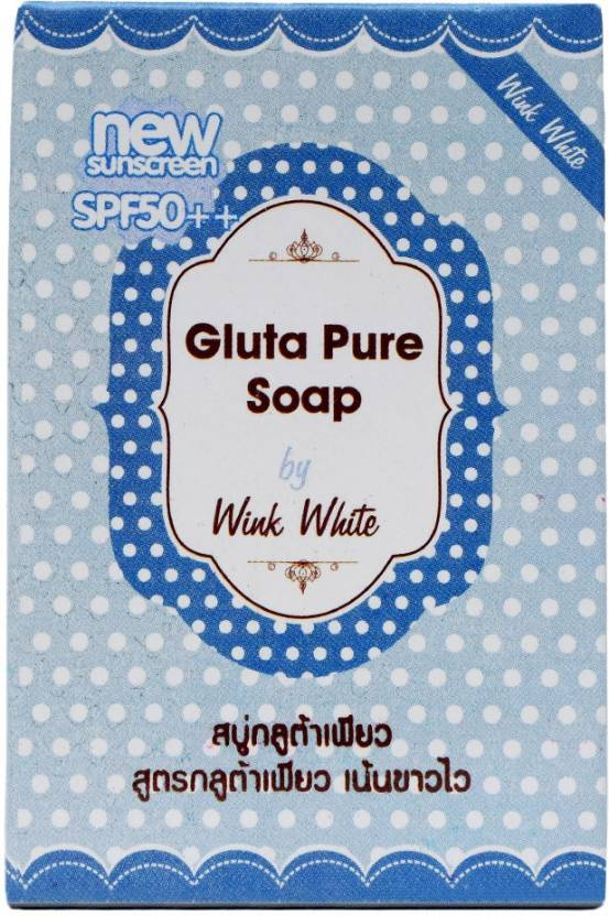 Wink White Gluta Pure Soap with Sunscreen SPF 50++ (70 g)