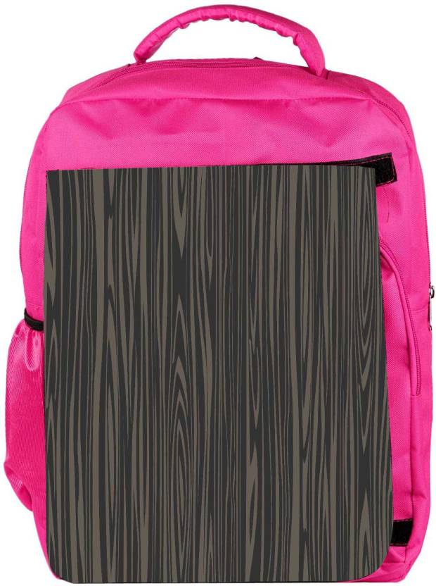 61fec31f8026 Snoogg Eco Friendly Canvas Black Wooden Texture Backpack Rucksack School  Travel Unisex Casual Canvas Bag Bookbag Satchel 5 L Backpack (Pink)
