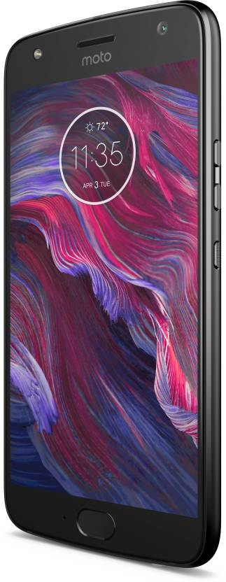 Moto X4 (Super Black, 64 GB)