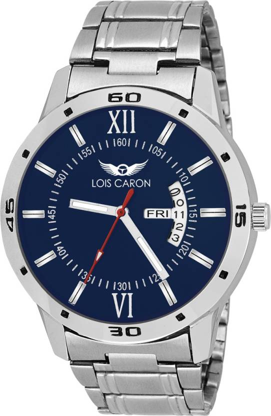Lois Caron LCS-8016 DAY AND DATE FUNCTIONING Watch - For Men