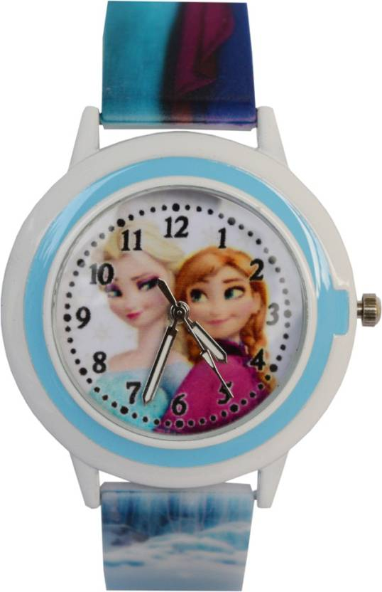 VITREND TM Frozen New Round Dial Birthday Gifts Sent As Per Available Colour Watch