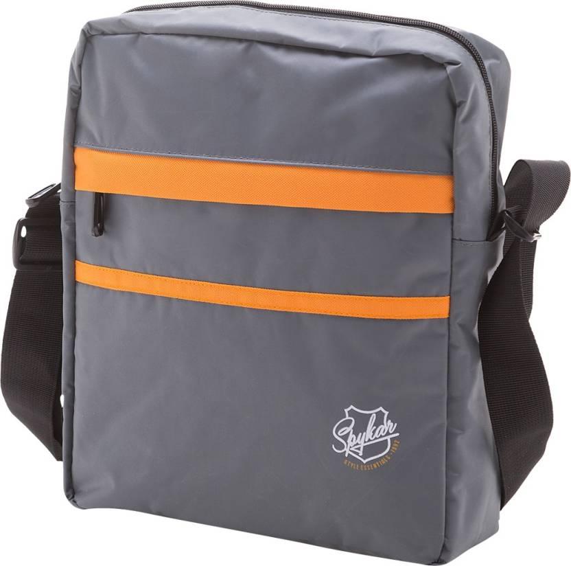 Buy Spykar Messenger Bag Grey Online   Best Price in India ... 210dc0059c6dd