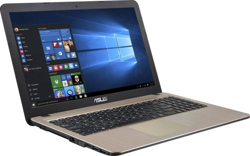 Asus APU Quad Core E2 - (4 GB/1 TB HDD/Windows 10 Home) X540YA-XO290T Laptop