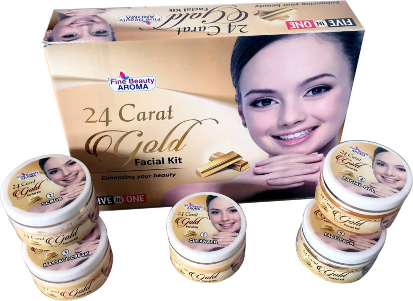 d0d2c87ed5 Fine Beauty Gold Facial Kit Gold GLow 250 g - Price in India, Buy Fine  Beauty Gold Facial Kit Gold GLow 250 g Online In India, Reviews, Ratings &  Features ...