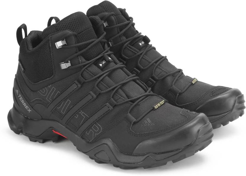 7de454495 ADIDAS TERREX SWIFT R MID GTX Outdoor Shoes For Men - Buy CBLACK ...
