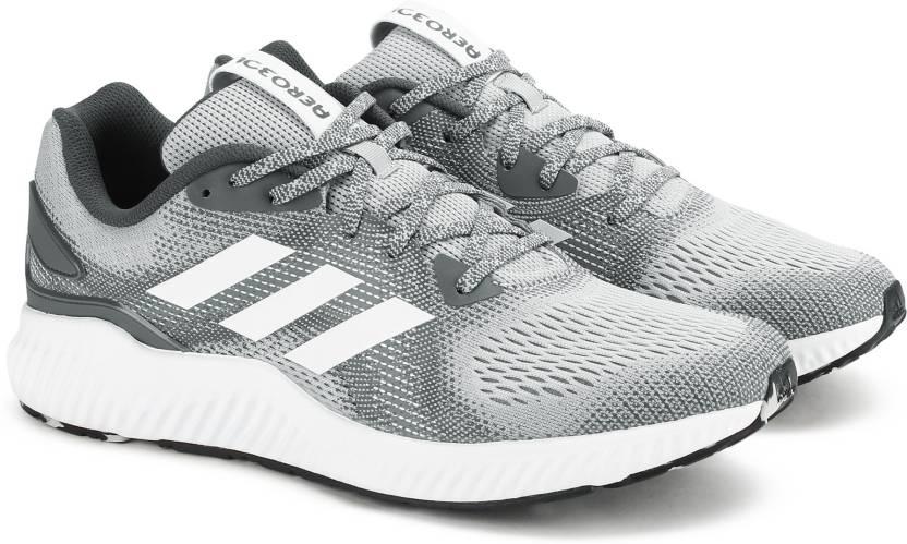 size 40 b45e8 8a3ca ADIDAS AEROBOUNCE ST M Running Shoes For Men (Grey)