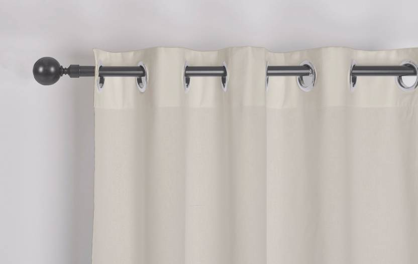 e4b2559d4401 Encasa Homes 152 Cm 5 Ft Cotton Window Curtain Single