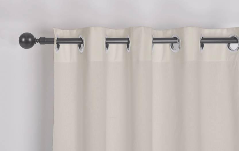 e4b2559d4401 Encasa Homes 152 Cm 5 Ft Cotton Window Curtain Single