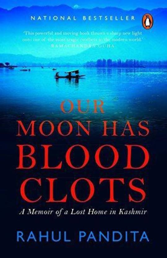 Our Moon has Blood Clots