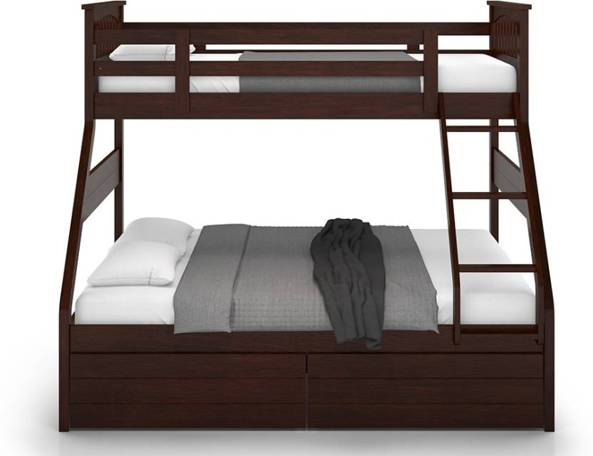 Urban Ladder Barnley Solid Wood Bunk Bed Price In India Buy Urban