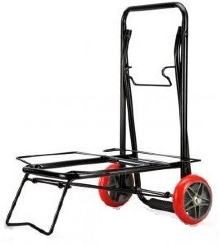 Shopo Small Two Wheels Foldable Cart Luggage