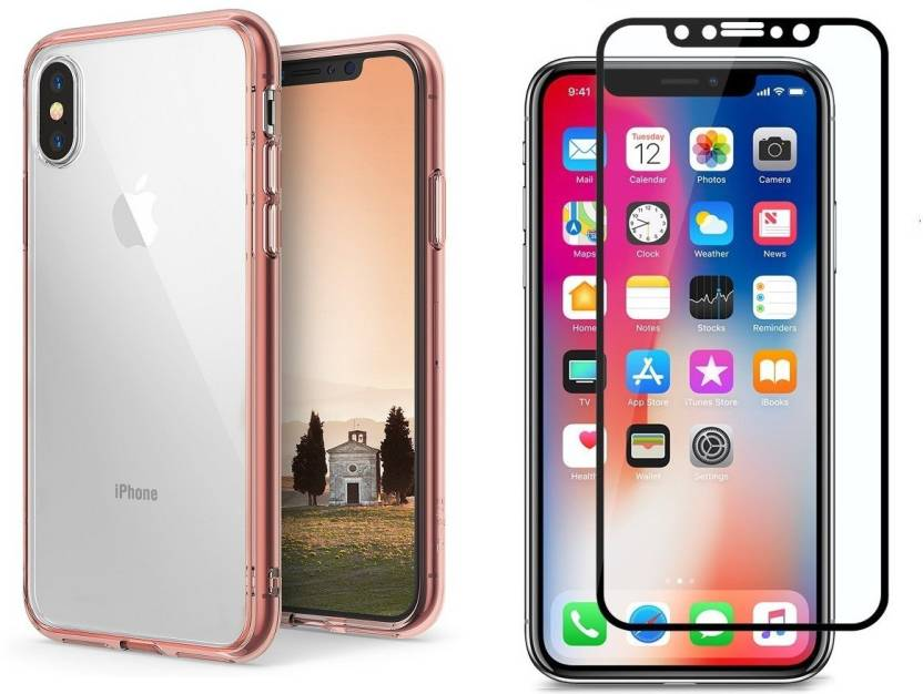 3818e9cc569c BESTTALK Cover Accessory Combo for Apple IPhone X Price in India ...