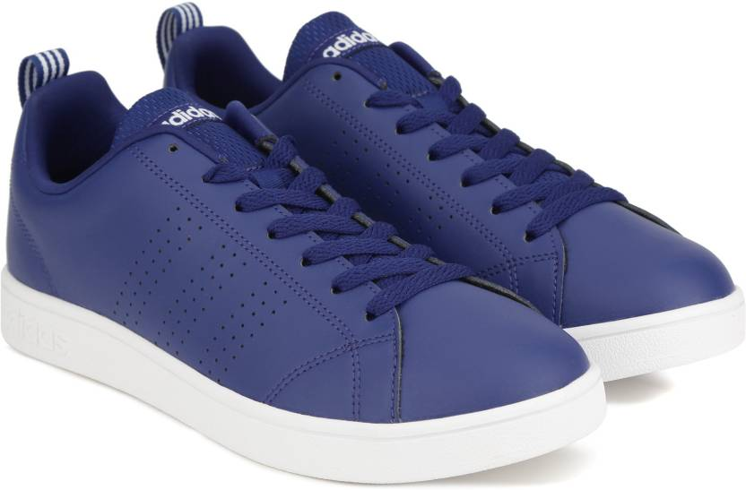 wholesale dealer eb288 f57f6 ADIDAS NEO VS ADVANTAGE CL Sneakers For Women (Blue)