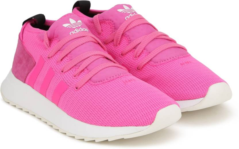 brand new 318a7 9619b ADIDAS ORIGINALS FLB MID W Sneakers For Women (Pink)
