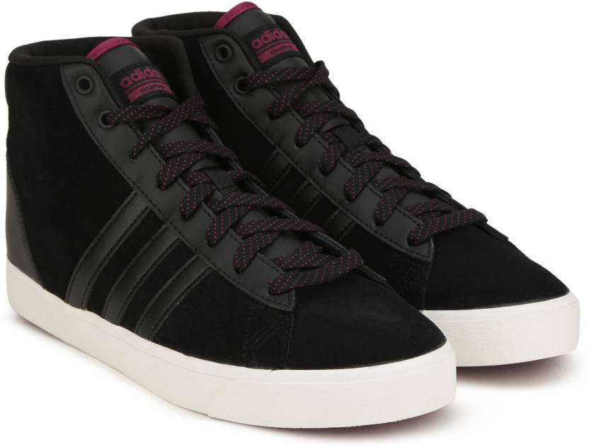 the best attitude 89333 5614e ADIDAS NEO CF DAILY QT MID W Sneakers For Women (Black)