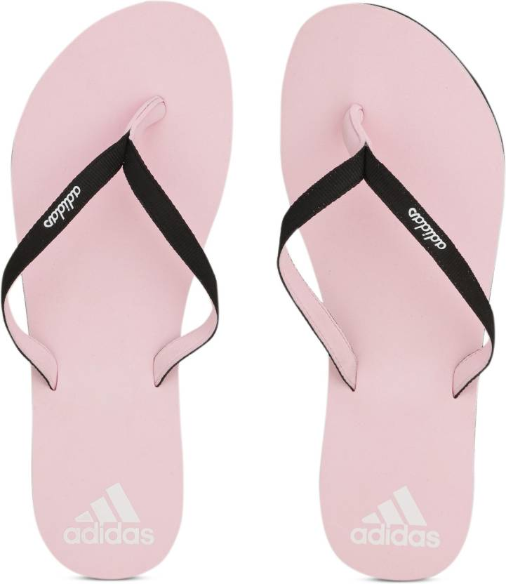 efeb088c8df7 JPG Flip Flops - Buy PNKGLO BLACK WHITE Color ADIDAS EEZAY MAXOUT WOMEN.JPG Flip  Flops Online at Best Price - Shop Online for Footwears in India