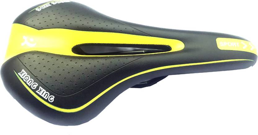 d38bb61686 Schrodinger Schro50074 Bicycle cycle Road mountain saddle seat polyurethene  Saddle (Yellow