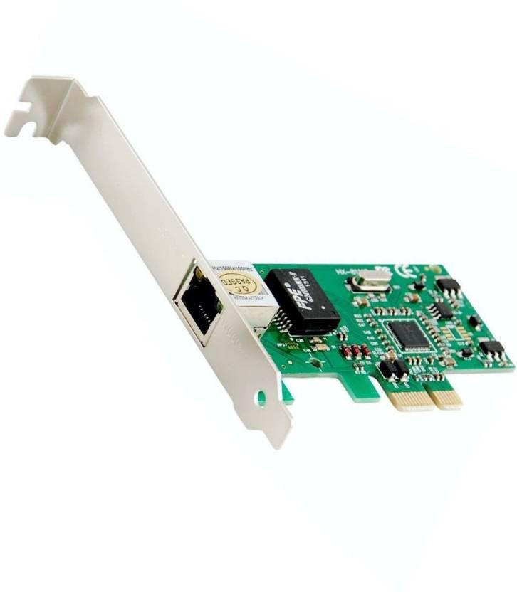 FineArts Gigabit Ethernet LAN PCI Express (PCIe) Network