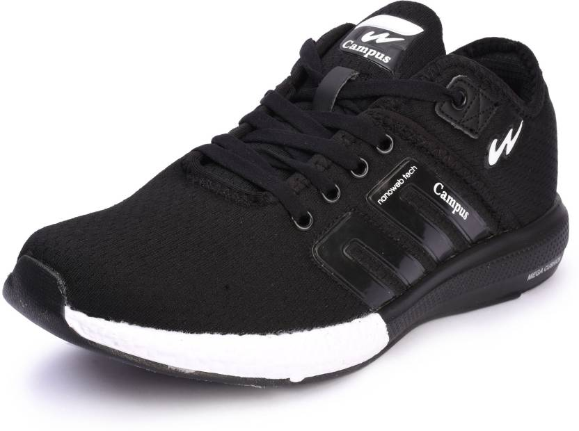 Campus BATTLE Running Shoes For Men - Buy Black Color Campus ...