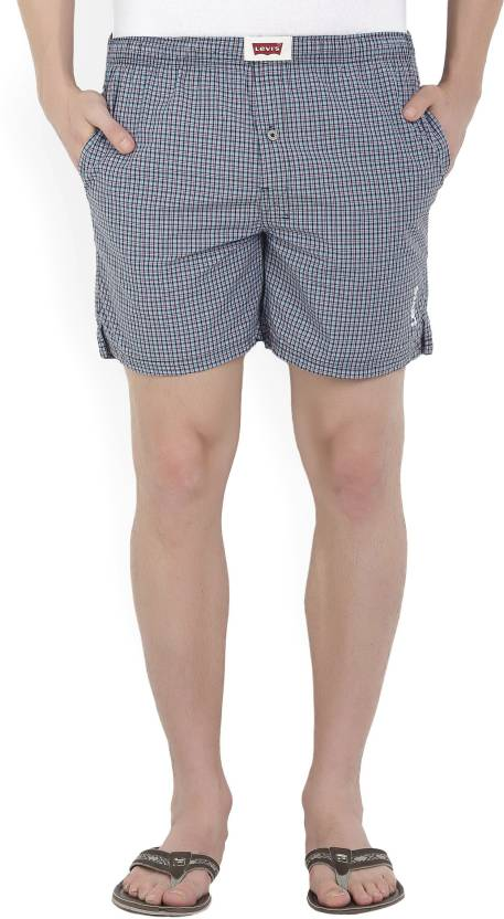 d3935a84ba702a Levi's Checkered Men's Blue Basic Shorts - Buy Assorted Levi's Checkered  Men's Blue Basic Shorts Online at Best Prices in India   Flipkart.com