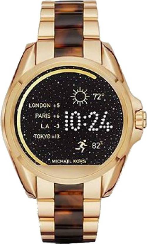 465bbc35d0 Michael Kors Access Bradshaw (For Women) Smartwatch (Gold Strap Regular)