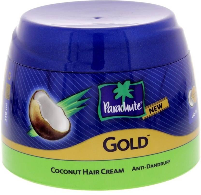 Parachute Gold Anti Dandruff Coconut Hair Cream For All Type Hair