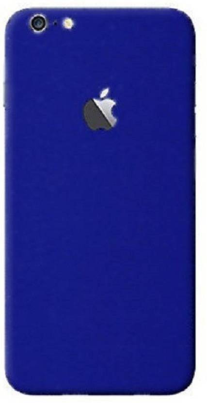 los angeles fa561 99fa3 GadGets Wrap 7209 skin- Blue Matte Skin for Back Of Apple iPhone 6 ...