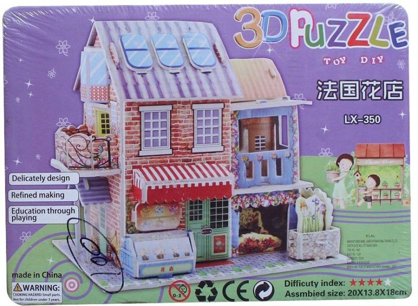 Toyswala Diy Toy House Building 3d Puzzle Diy Toy House Building