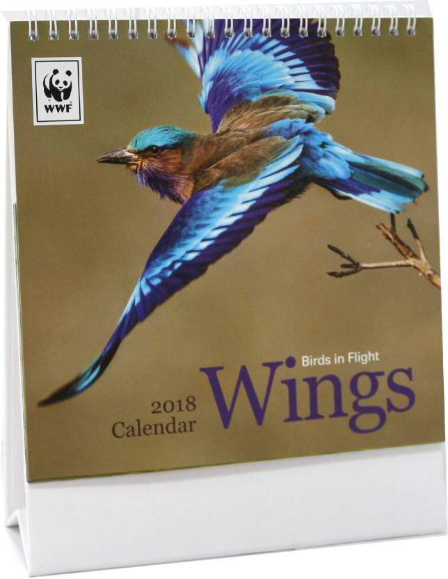 wwf dc 18106 2018 table calendar