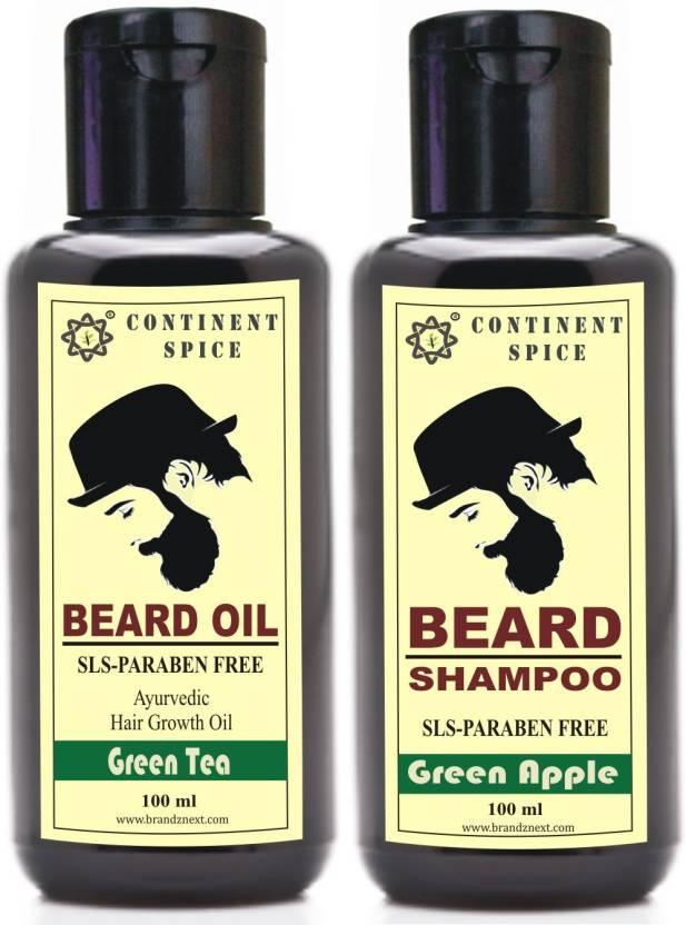 Continent Spice Beard Growth Combo ( Oil+Shampoo) -CS682005