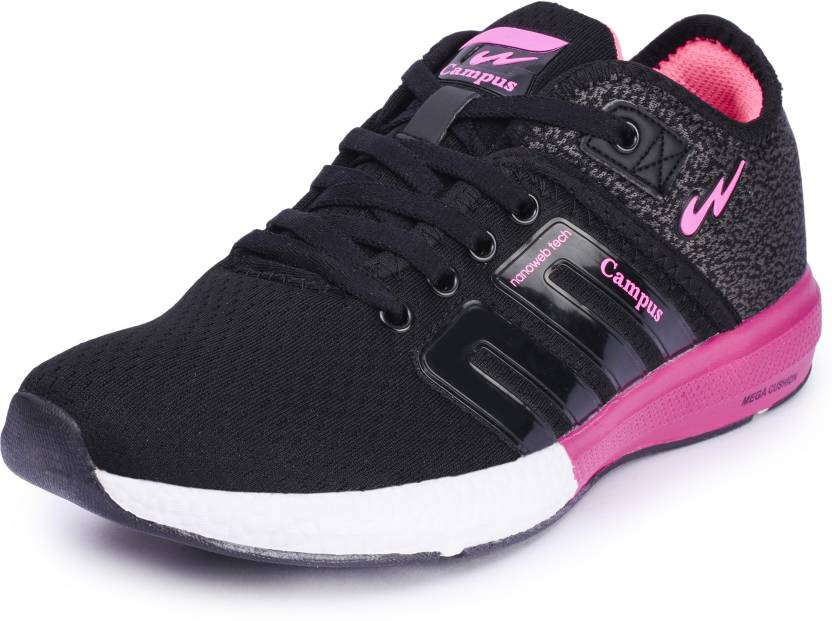 22f5e134b Campus BATTLE Running Shoes For Women - Buy BLK-PINK Color Campus ...