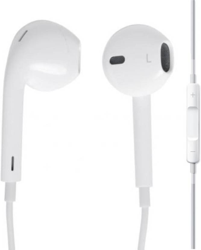 5c47a1d61f3 Blue Birds Original High Quality Earphone for Apple iphone 5,5s,5c,6,6s, 6plus,6splus,7,7plus,ipad & Ipod Wired Headset with Mic (White, In the Ear)