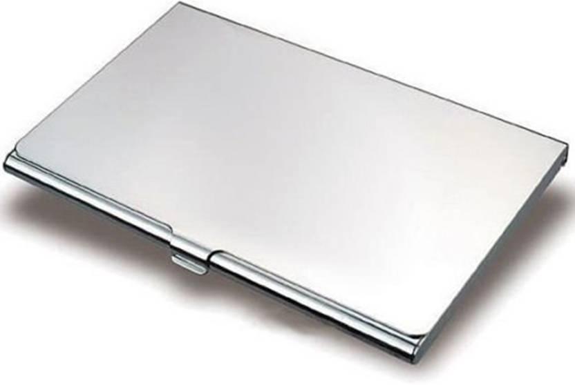 finest selection 10c05 428a5 AVI Unisex Steel ATM/Visiting/credit Card Holder, Business Card Case Holder  6 Card Holder