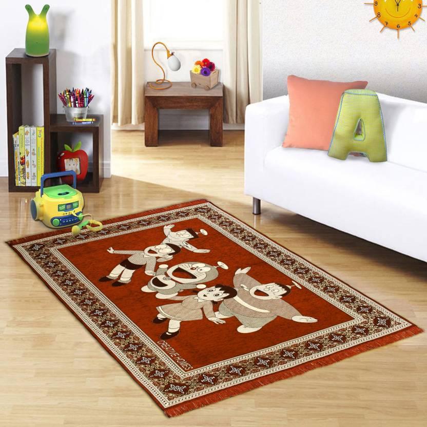 Creative Homes Orange Velvet Carpet Buy Creative Homes Orange Classy Best Living Room Carpet Creative