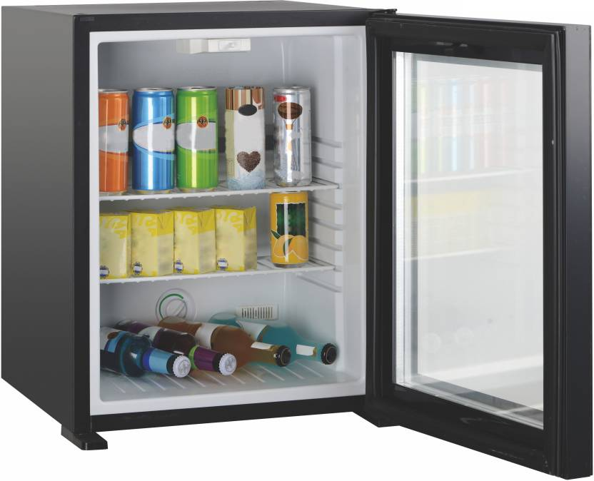Dolphy Black Glass Door Mini Bar 40 L Compact Refrigerator Price In