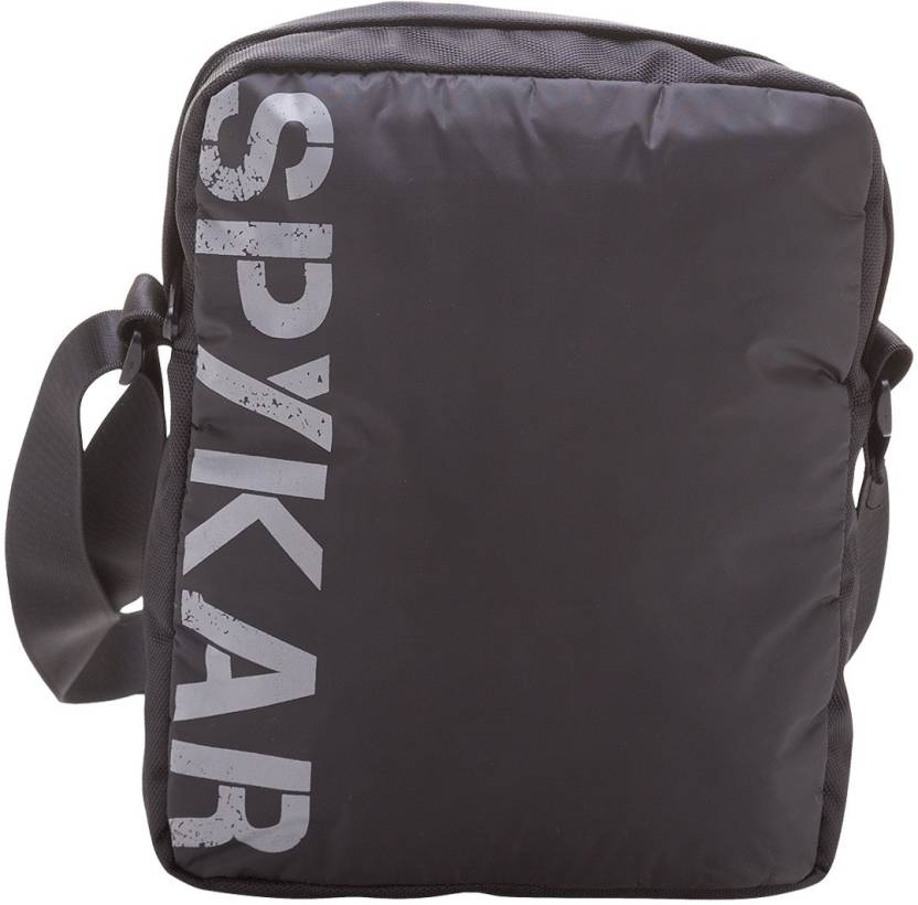 Buy Spykar Messenger Bag Black Online   Best Price in India ... 968a7d1fc4e7b