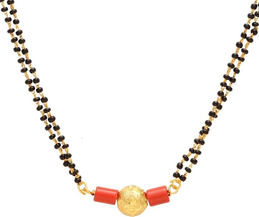 0f0886f641464 DzineTrendz Gold plated Brass Ball and Coral design Ethnic ...