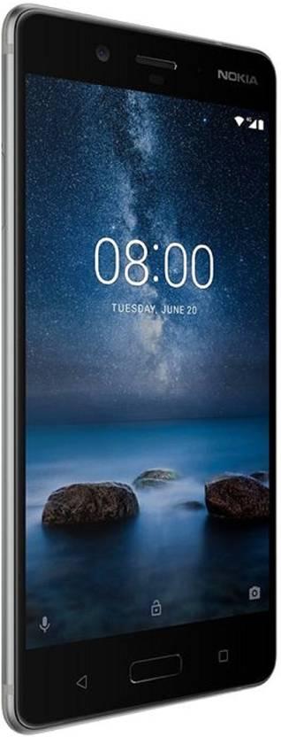 Nokia 8 (Steel, 64 GB)(4 GB RAM)
